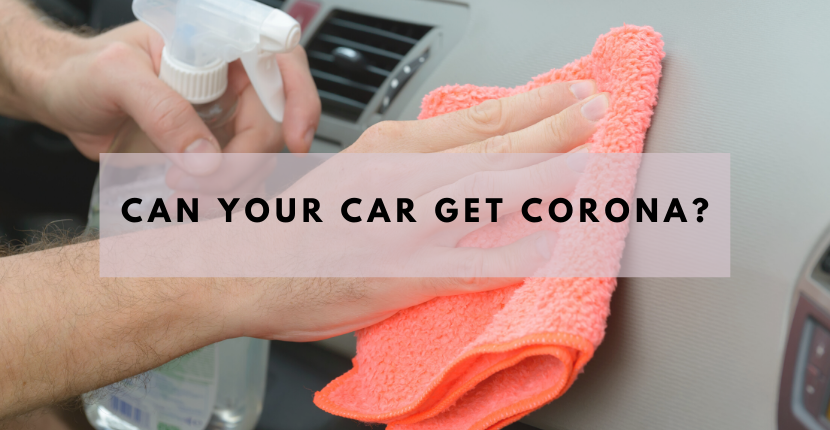 Can Your car Get Corona?