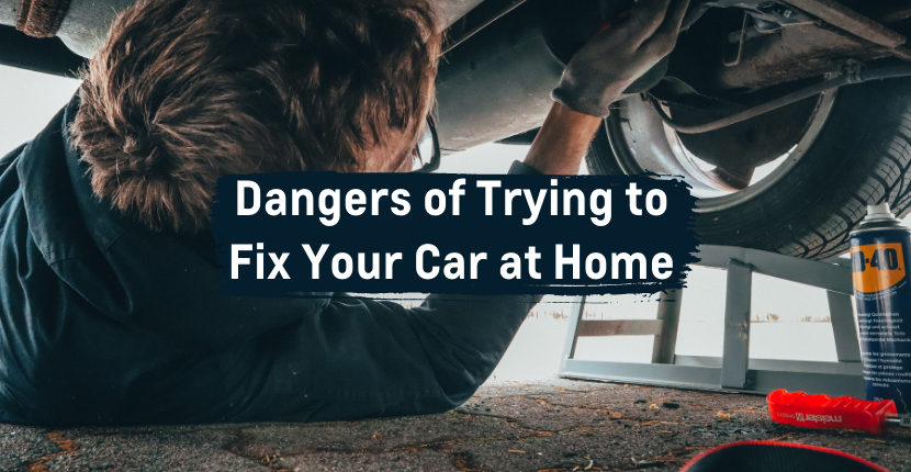How to safely fix your car at home
