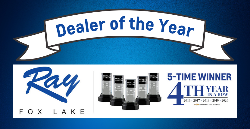 Ray Chevy Dealer of the Year