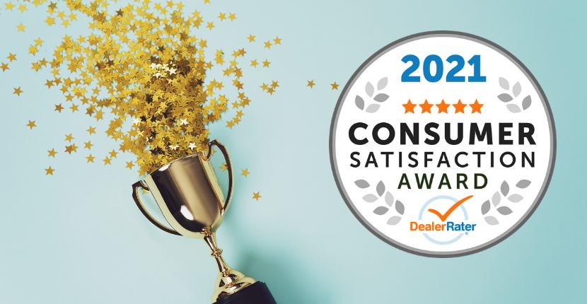 Ray Chevy Consumer Satisfaction Award