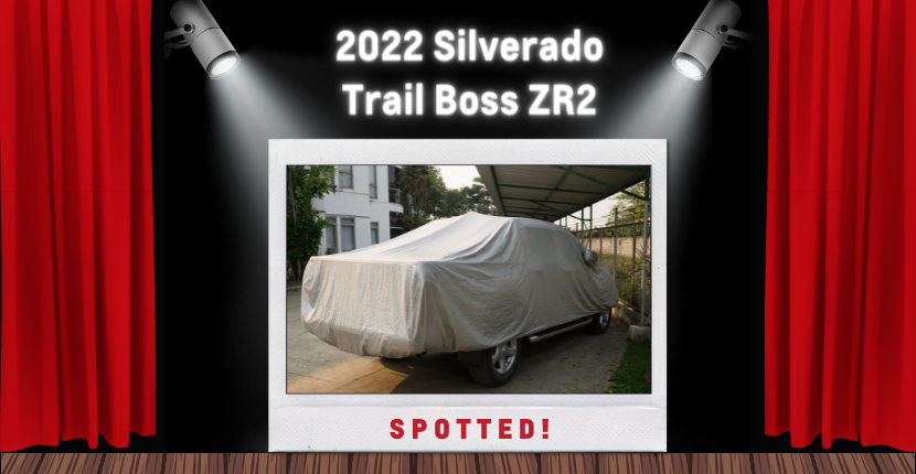 2022 Silverado Trail Boss ZR2 Was Spotted!