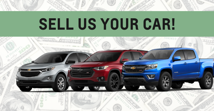 It's The Best Time To Sell Us Your Car!