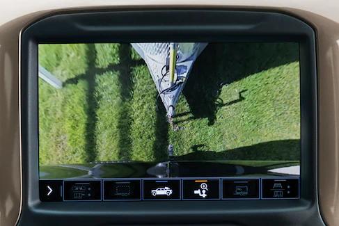Chevy Silverado Rear Top-Down View