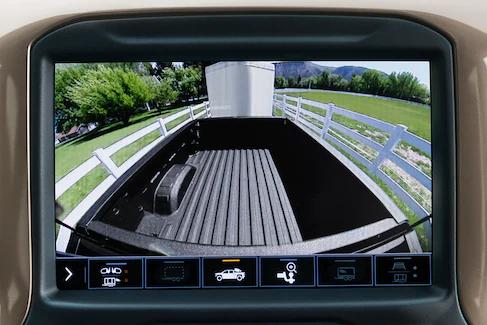 Chevy Silverado Bed View