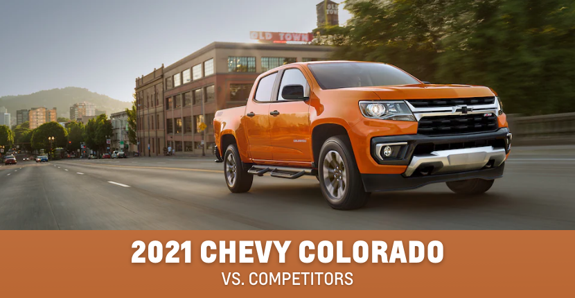 The Chevy Colorado Compared To Its Competitors