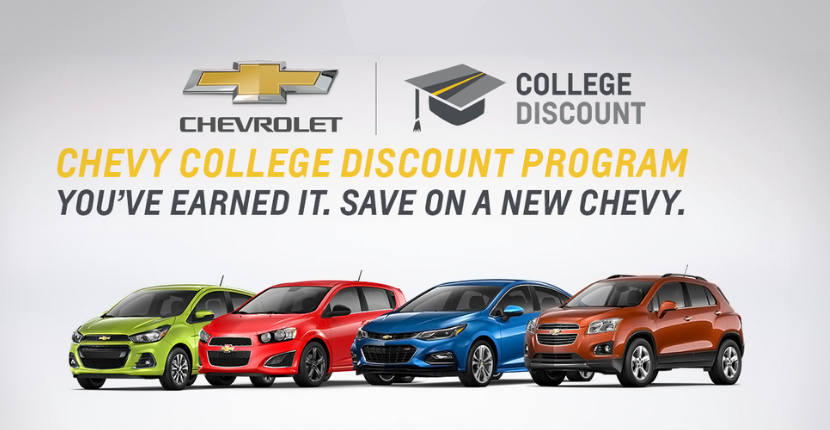 What is the Chevy College Discount Program?
