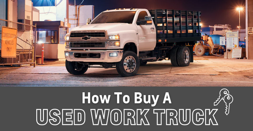 How to Buy a Used Work Truck
